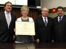 03/07/2015: Cidadania para Maria Helena Godoy
