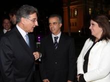04/06/2015 - No Jantar do Projeto Fartura, no Palácio da Liberdade