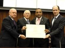 05/04/2016 - Diploma Honra ao Mérito à Recreio