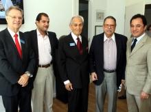 10/10/2015 - Conexão Empresarial com o presidente da Fiat para América Latina Cledorvino Belini