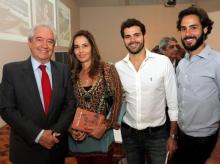 16/06/2015 - no lançamento do livro Hélio Garcia em poucas palavras