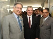 18/09/2015 - Conexão Empresarial com o presidente da Assembléia Legislativa Adalclever Lopes