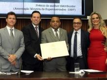 19/09/2015 - Entrega Diploma Honra ao Mérito a Euler Nejm