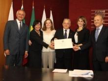 20_09_2016 - Ordem da Estrela da Itália para Olavo Machado