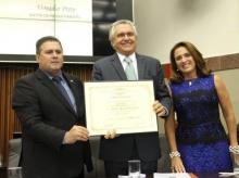 22/03/2016 - Entrega do Título de Cidadão Honorário de Belo Horizonte para o senador Ronaldo Caiado
