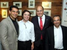 26/08/2015 - JAM Engenharia oferece jantar a empresários Portugueses