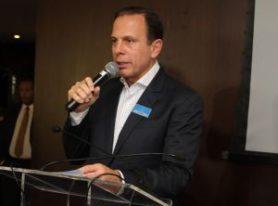Doria abre Conexão Empresarial fazendo balanço dos 52 dias na prefeitura de SP
