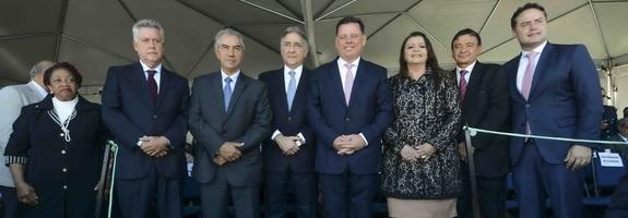 Governador recebe a comenda Ordem do Mérito Anhanguera.  Data: 25-07-2017  Local: Cidade de Goiás - GO  Crédito Gil Leonardi/Imprensa MG