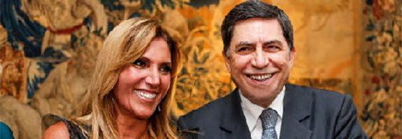 Trabuco e Lucilia Diniz